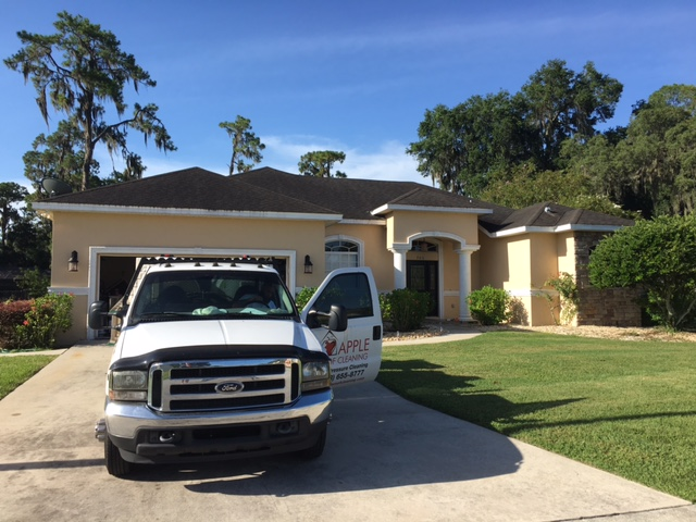 This Home Was In Walden Lake In Plant City, And They Are A Deed Restricted  Community. Our Customer Got A Letter Asking Him To Clean His Roof, ...