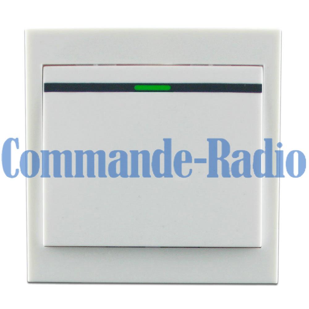 Uitiliser un kit commande radio avec t l commande sans fil for Changer un interrupteur mural