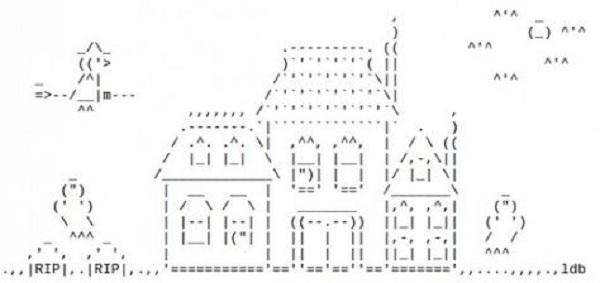 Pengertian Seni ASCII Beserta Contoh Gambar Yang Unik Dan Lucu