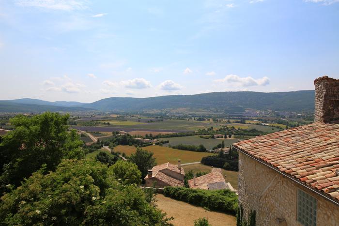 Blick vom Hotel Belvue, Sault / Provence