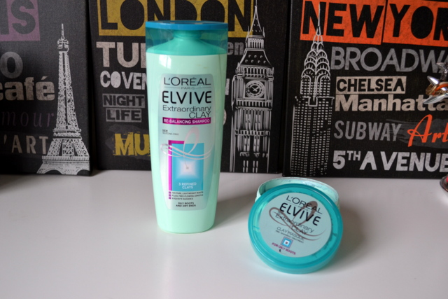 L'oreal Extraordinary Clay Shampoo and Masque