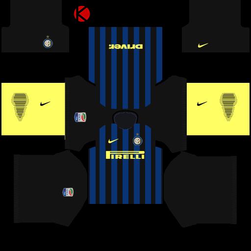 Inter Milan Kits 2016/2017 - Dream League Soccer 2015