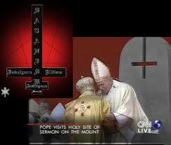 Αποτέλεσμα εικόνας για ανάποδος σταυρός πάπας