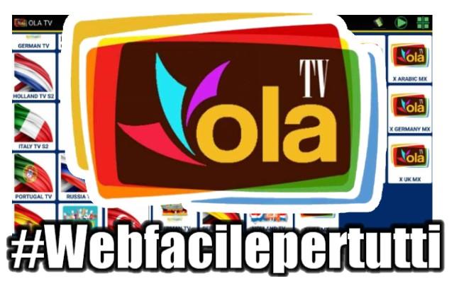 OLA TV | App android per vedere oltre 3000 canali TV da tutto il Mondo in streaming