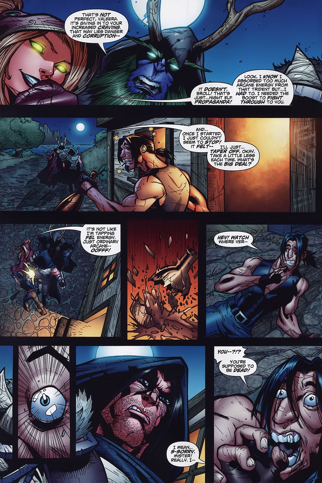 Read online World of Warcraft comic -  Issue #8 - 9