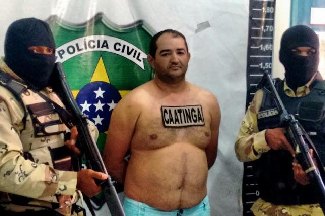 Polícia prendem indivíduo acusado de homicídio em Nossa Senhora da Glória