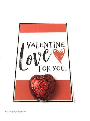 Free Printable Valentines @michellepaigeblogs.com