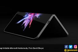 Microsoft Latah Bikin Smartphone Layar Lipat