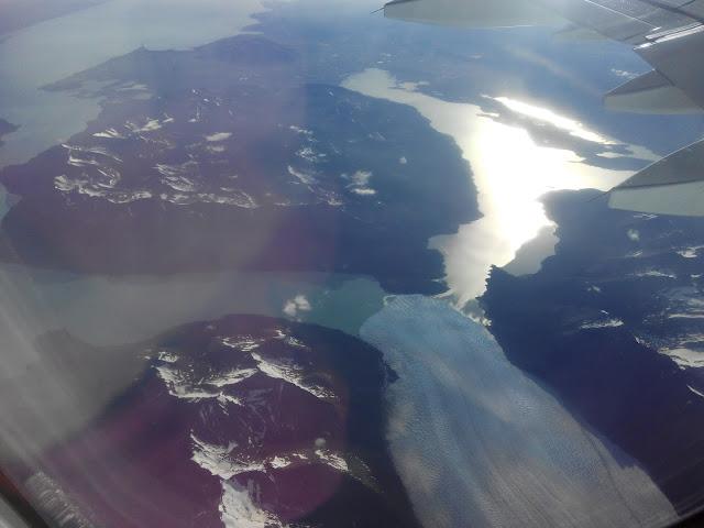 Glaciar Perito Moreno desde el aire
