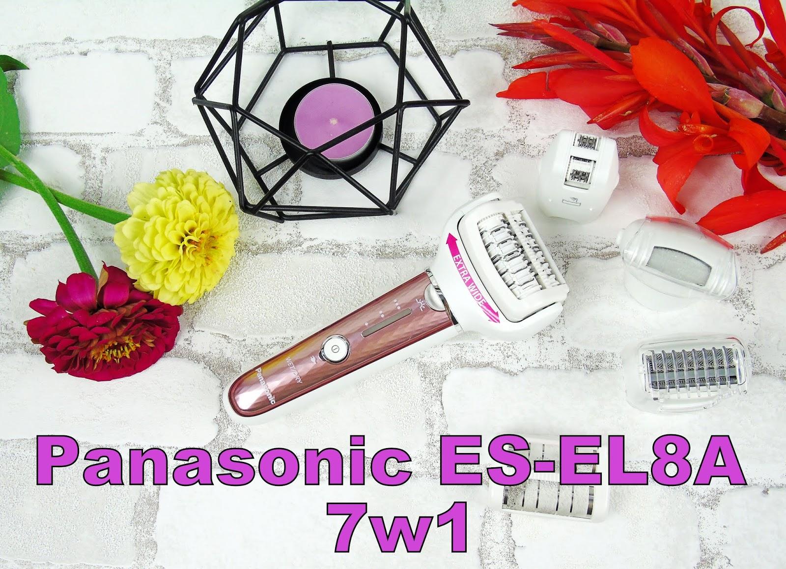 Depilator wielofunkcyjny ES-EL8A marki PANASONIC - Niezastąpione urządzenie pielęgnacyjne dla każdej kobiety