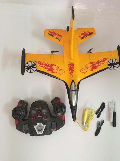 Hình ảnh thực tế máy bay F16 4 kênh_2