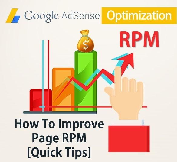 Google Adsense Optimization - How To Improve Page RPM