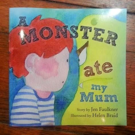 The Brick Castle: A Monster Ate My Mum ~ A Children's Book