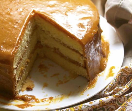 Real Deal Southern Caramel Cake Recipe