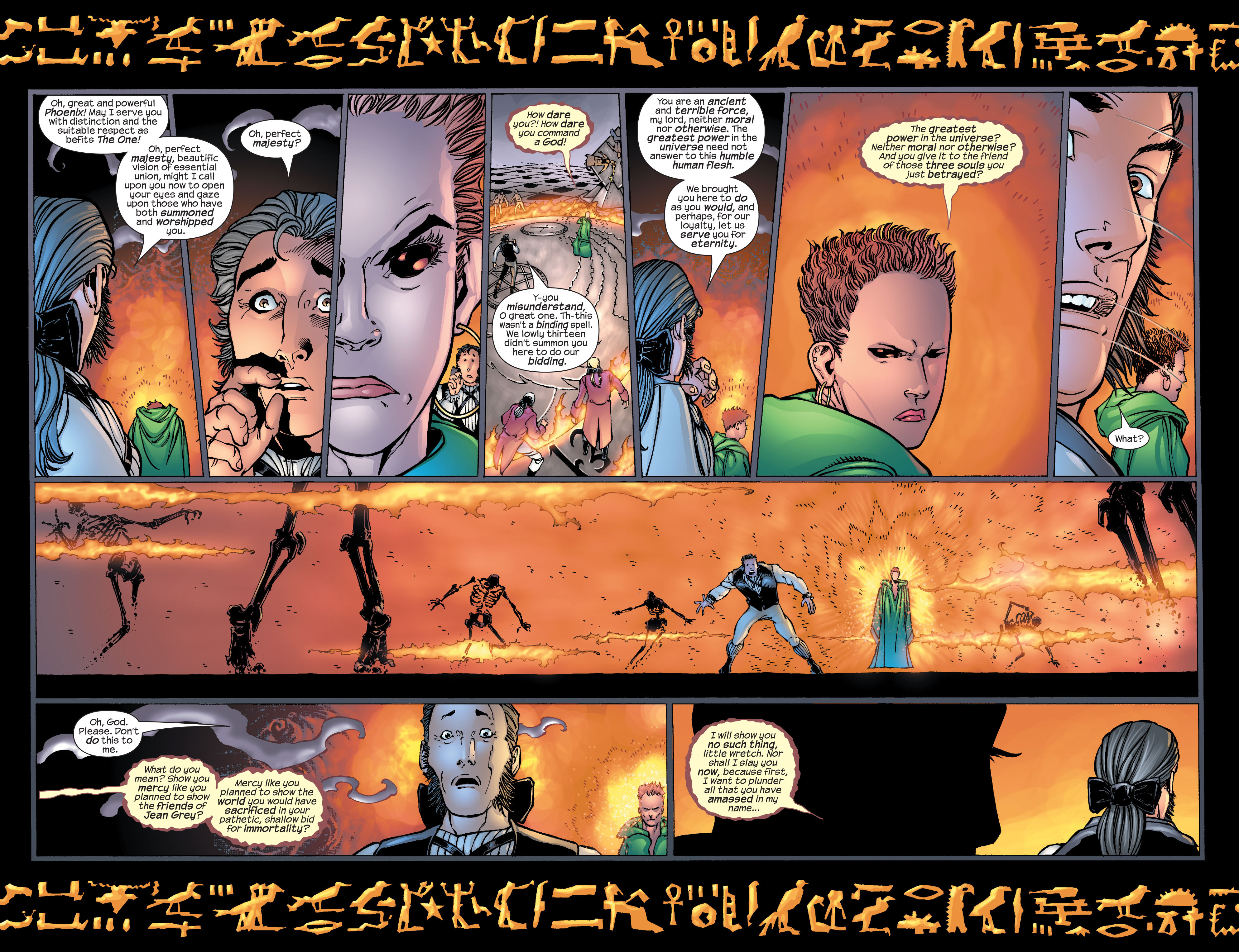 Read online Ultimate X-Men comic -  Issue #25 - 19