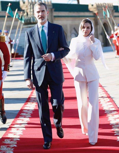 Queen Letizia and Princess Lalla Meryem