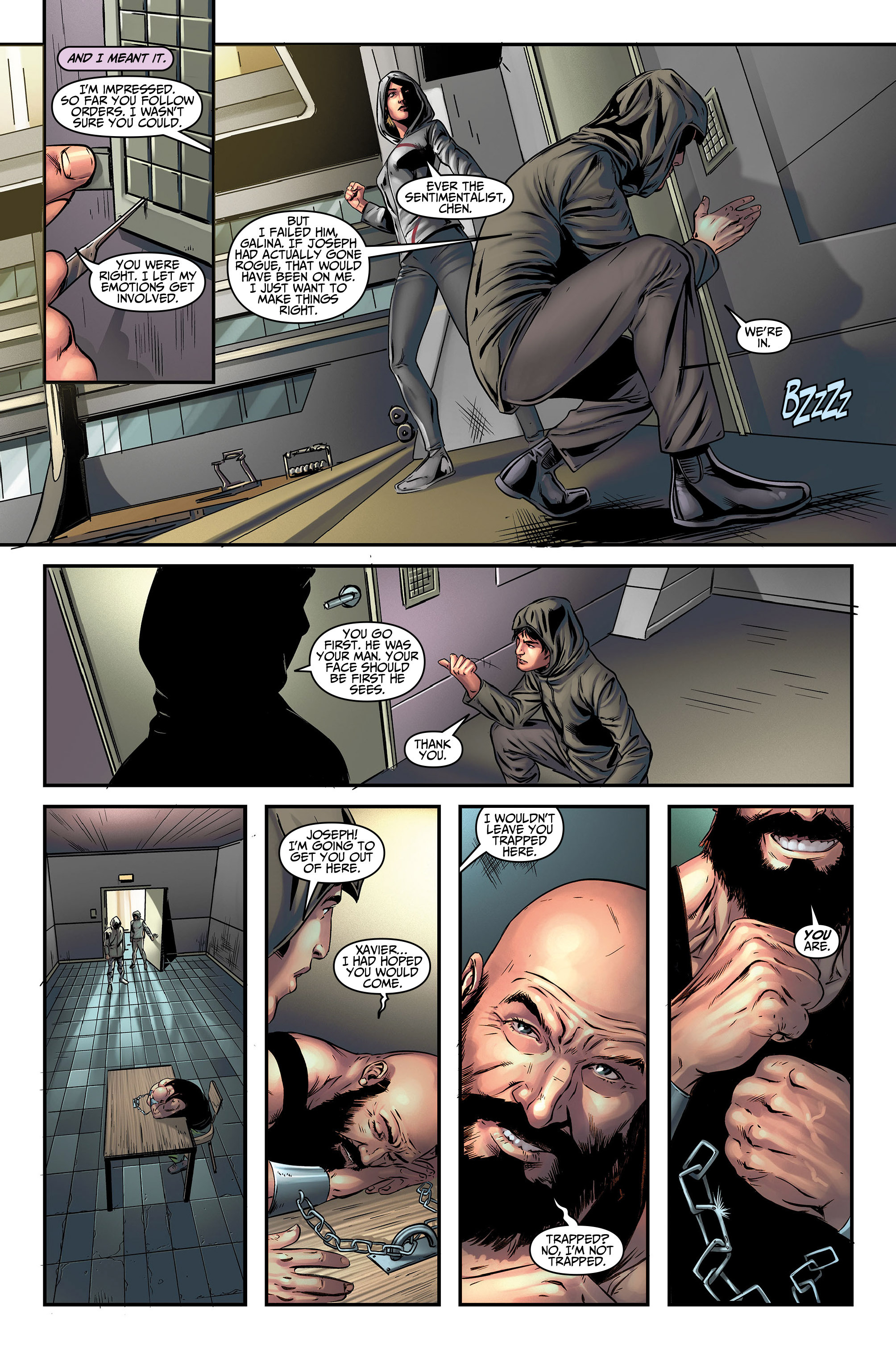 Read online Assassin's Creed (2015) comic -  Issue #5 - 11