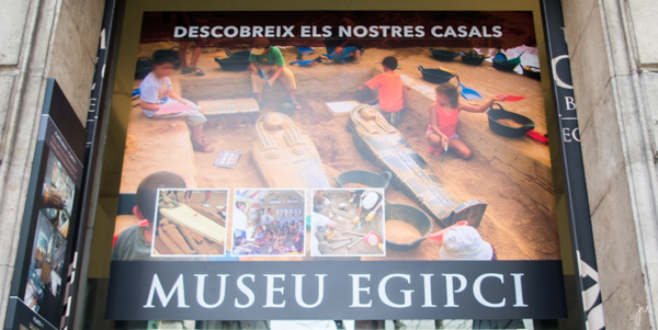 BEDA #10 || BARCELONA || Museu Egípcio