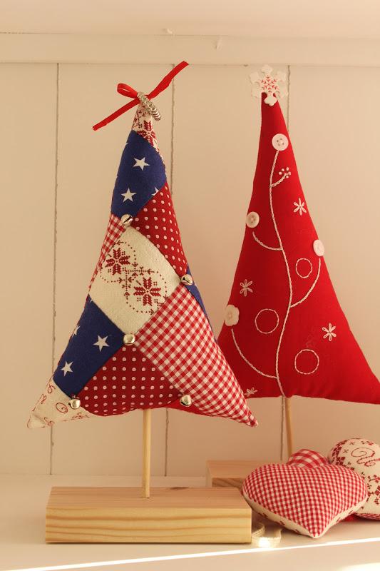 Mi hogar de patchwork arbol de navidad christmas tree - Arboles de navidad de tela ...