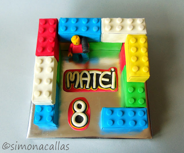 Tort Lego Lego Cake 4