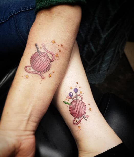 pretty Mother Daughter Tattoos