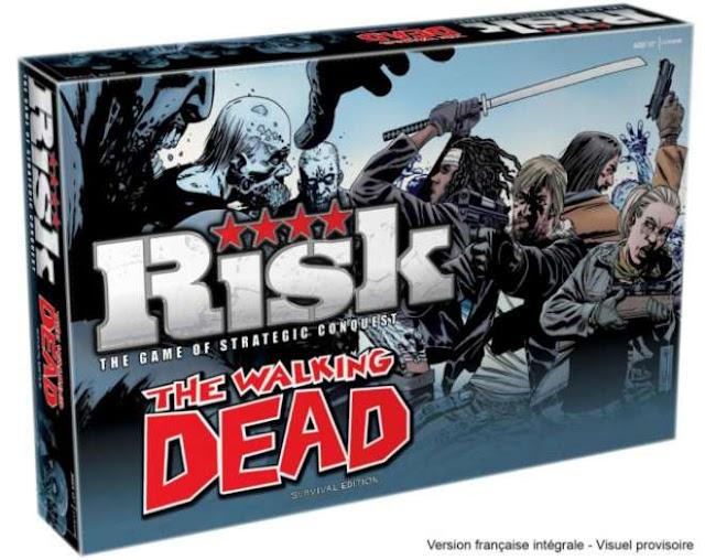 la sortie d'une version française intégrale du fameux Risk Walking Dead !