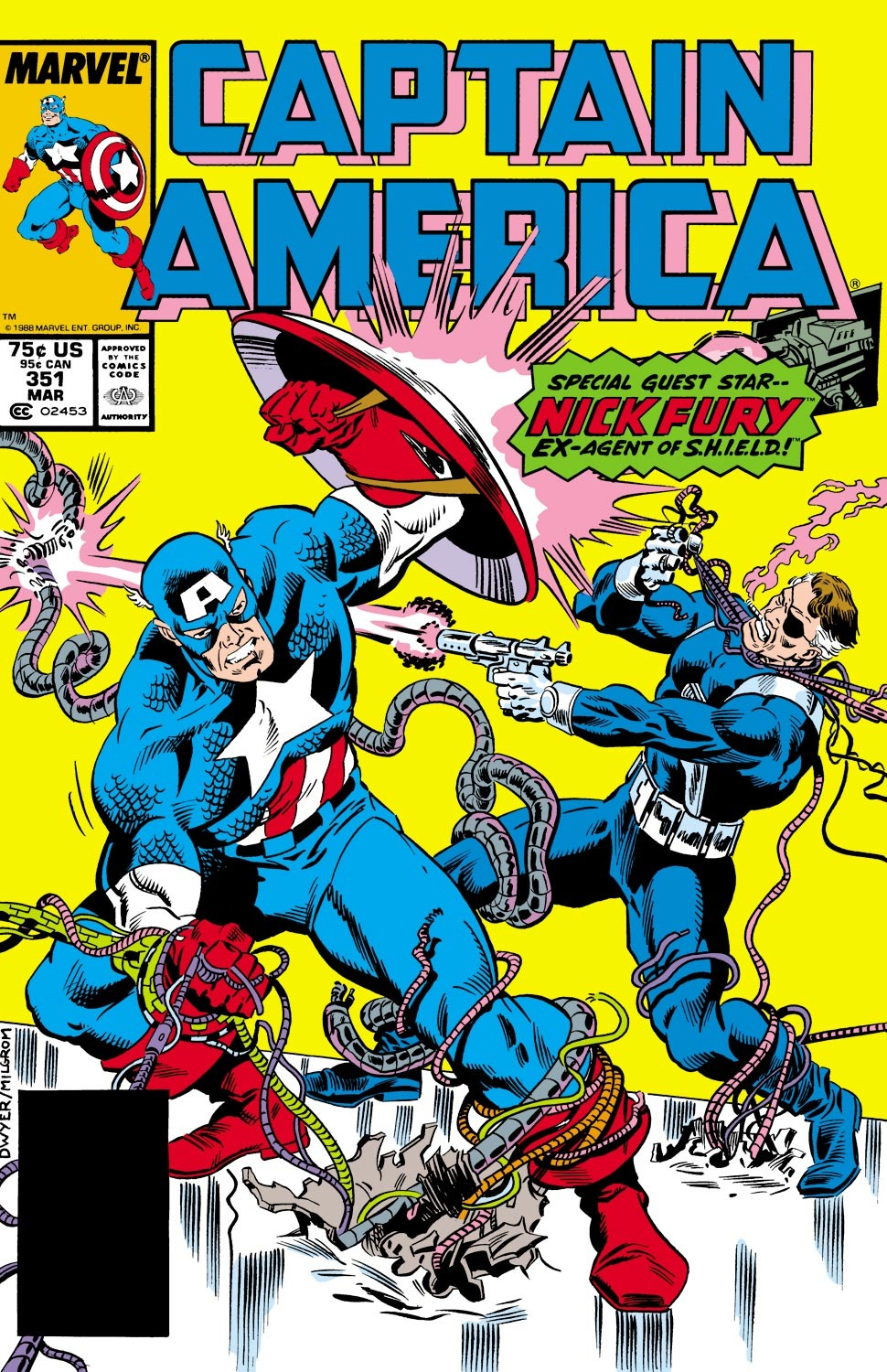 Captain America (1968) Issue #351 #283 - English 1