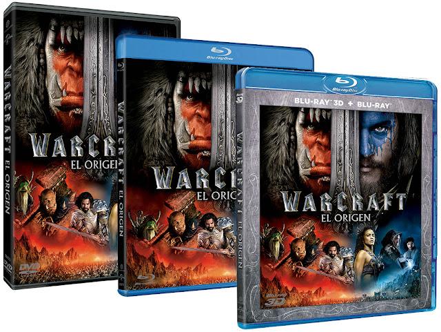 Ya a la venta 'Warcraft' en Blu-Ray, Blu-Ray 3D y DVD, además de dos ediciones metálicas