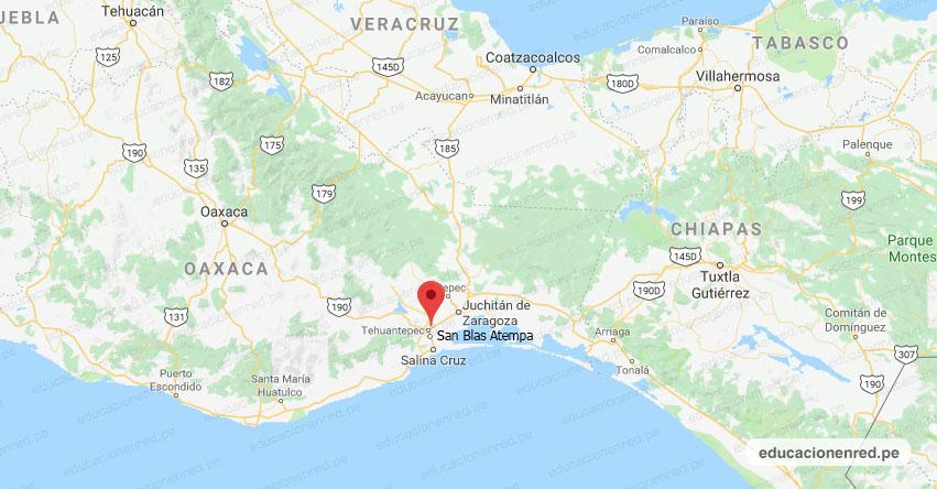 Temblor en México de Magnitud 4.2 (Hoy Jueves 28 Febrero 2018) Sismo - Epicentro - San Blas Atempa - Tehuantepec - Oaxaca - SSN - www.ssn.unam.mx