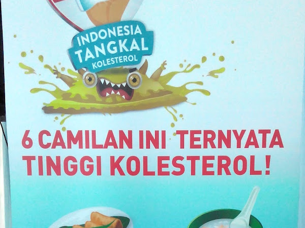 Food  Lovers, Yuk TANGKAL Kolesterol