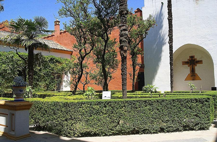 Los jardines de los reales alc zares de sevilla - Jardines de sevilla ...