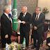Vázquez se reunió en El Cairo con el primer ministro de Egipto