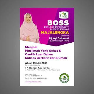 Template Poster BOSS