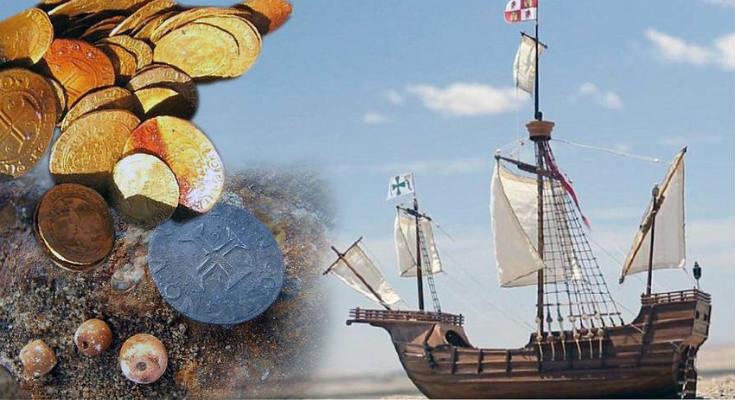 Ανακάλυψαν ναυάγιο με χρυσά νομίσματα στην… έρημο!