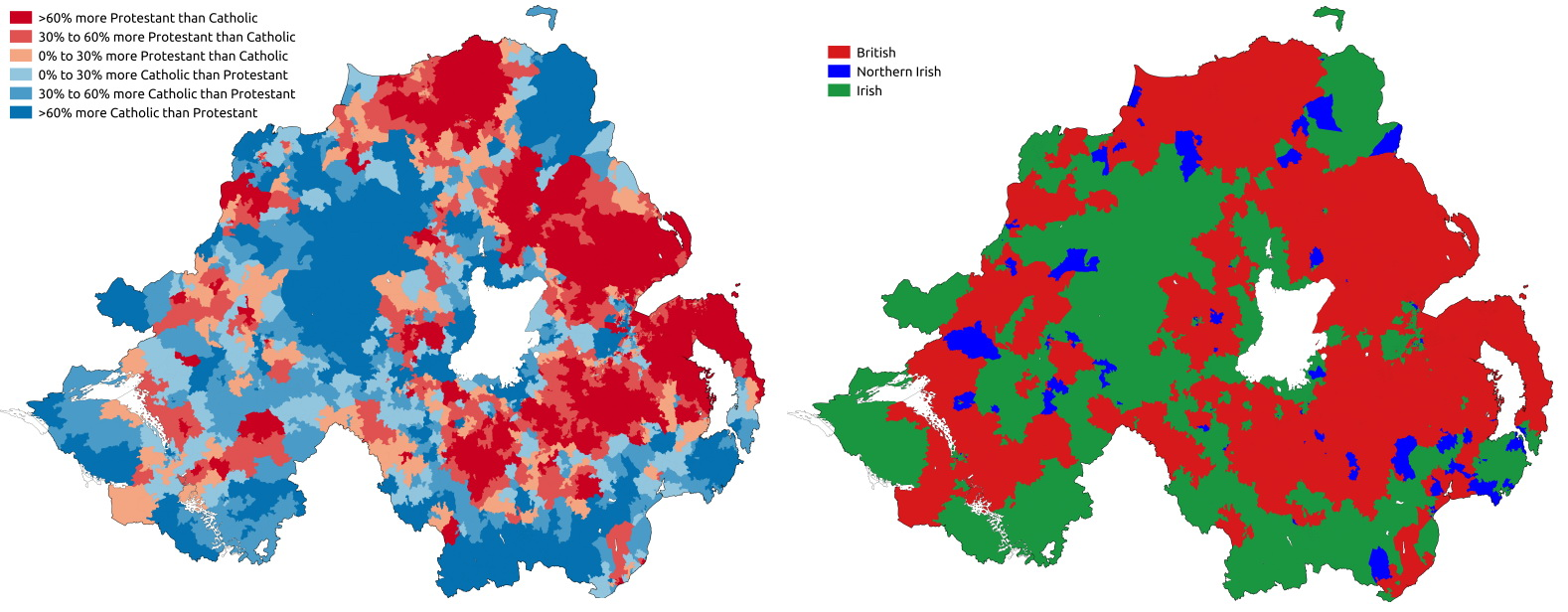 Religion & national identity in Northern Ireland