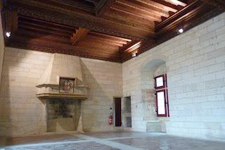 Interior del Castillo de Tarascón.