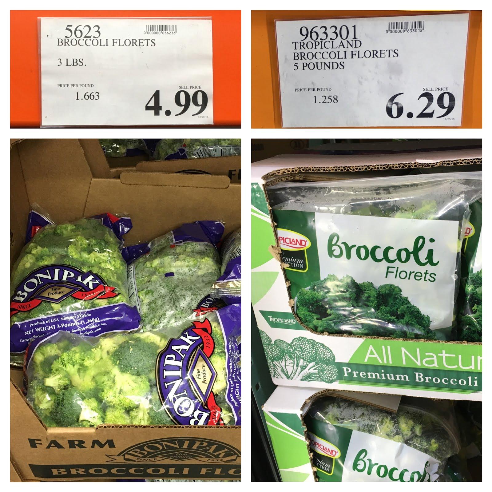 costco broccoli price