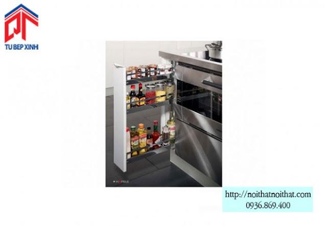 Bộ kéo cho khoang tủ rộng 15cm - MSP: 545.61.028