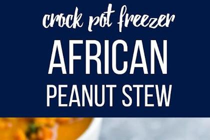 SLOW COOKER VEGAN AFRICAN PEANUT STEW