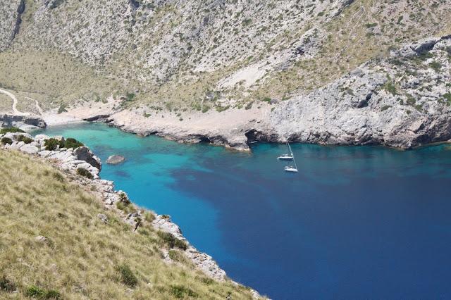 kleine Bucht an der Halbinsel Formender auf Mallorca