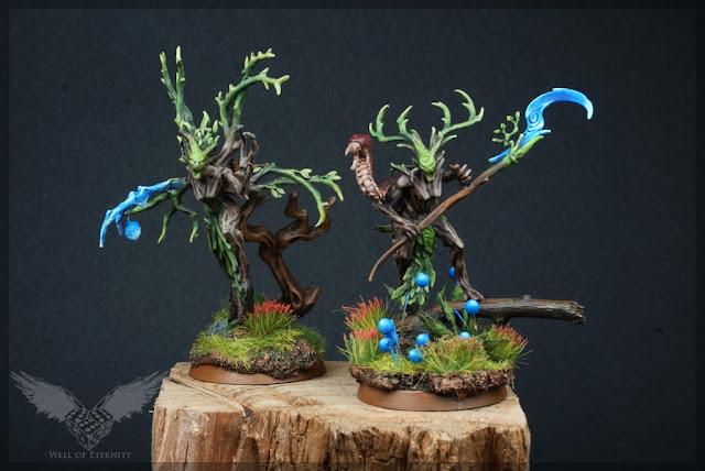 warhammer age of sigmar sylvaneth branchwraith and branchwych, heroes.
