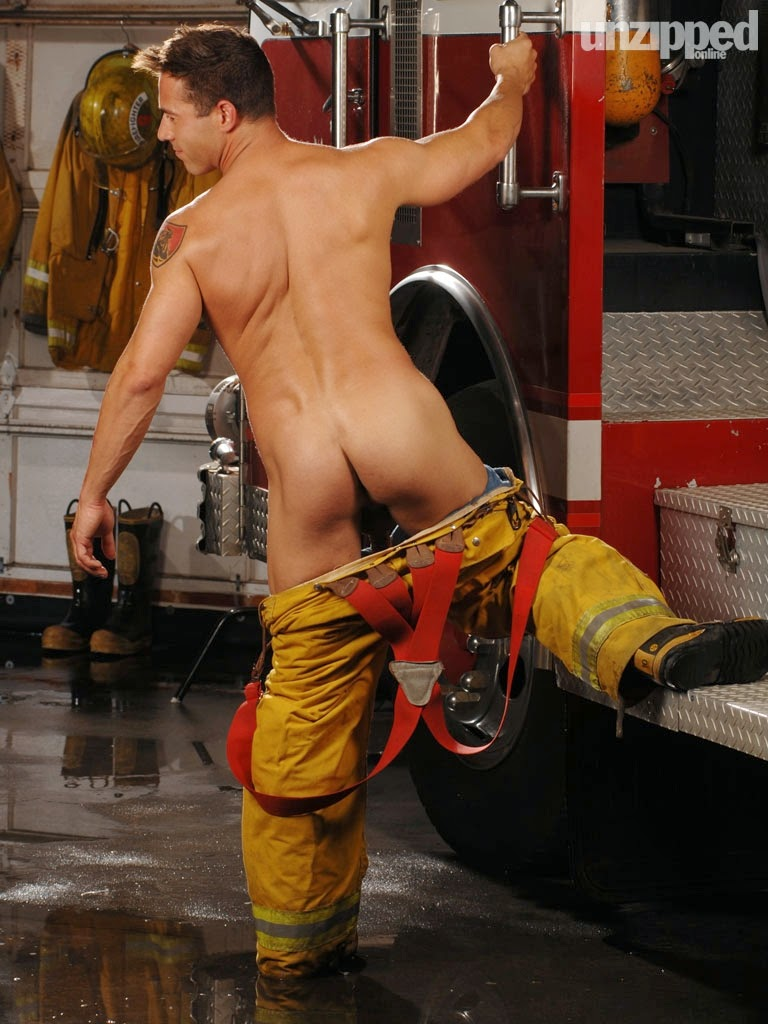 Firefighters nude ass woman — img 8