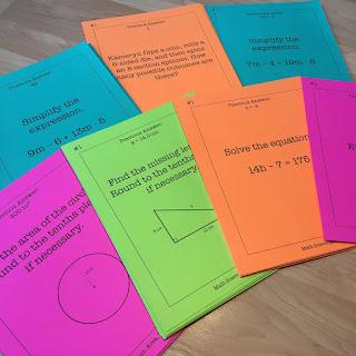 https://www.teacherspayteachers.com/Product/8th-Grade-Math-Scavenger-Hunt-Bundle-2966861