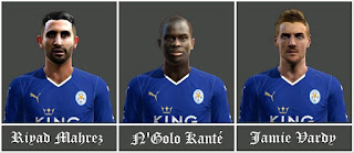 Mini FacePack Leicester City 2016 Pes 2013