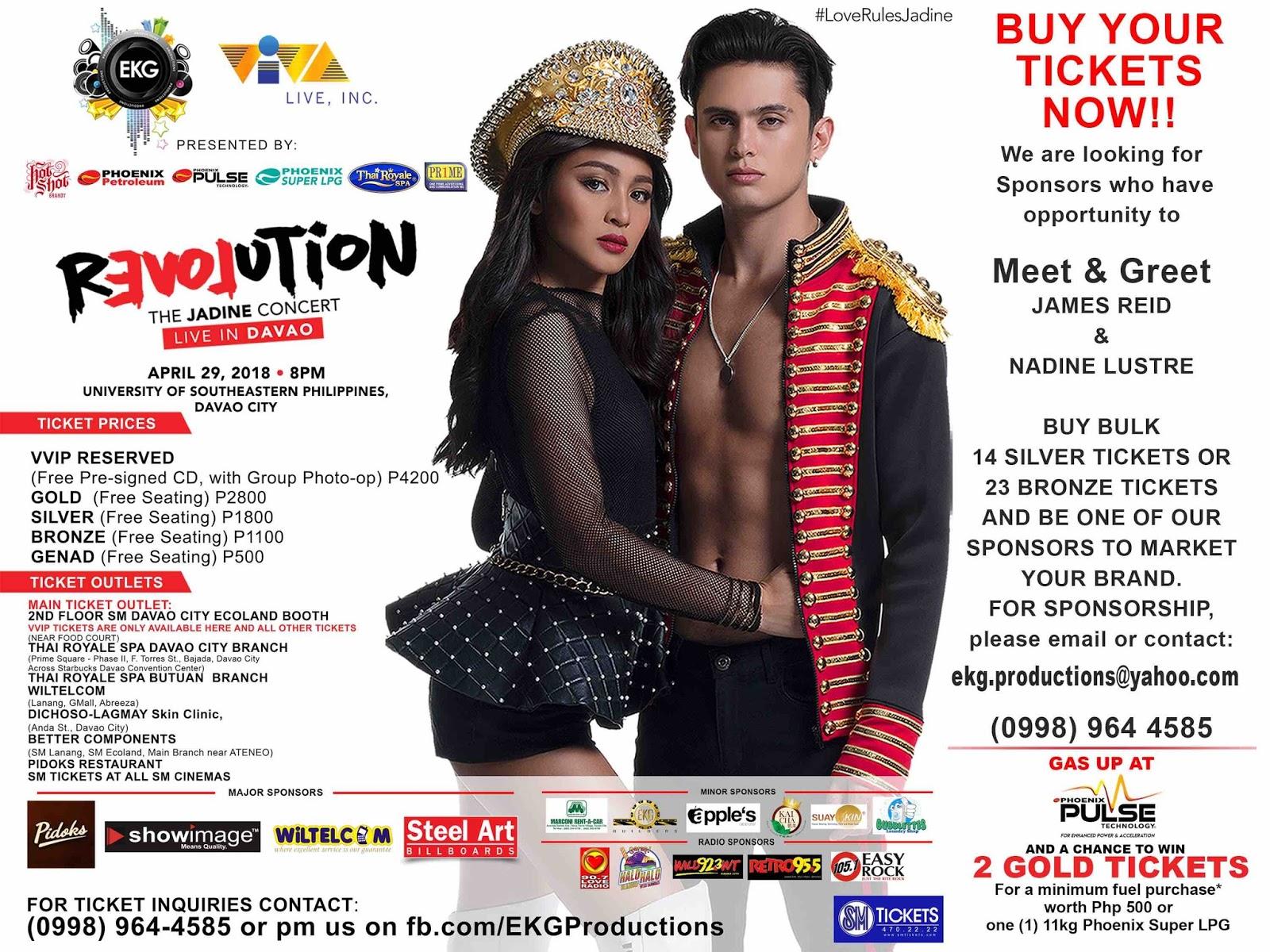 Jadine Revolution Concert in Davao