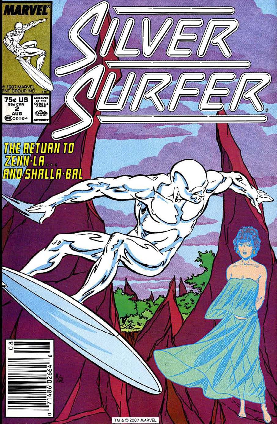 Read online Silver Surfer (1987) comic -  Issue #2 - 1
