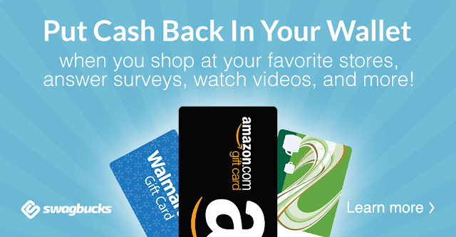 Image: You can get free gift cards for discovering things online with Swagbucks just like I did. Use my link to try it out