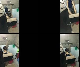 Clip: Quay lén em học sinh cấp 3 dáng non tắm đêm^^