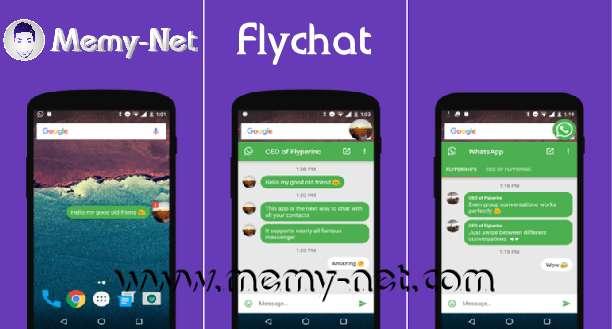 تحميل تطبيق Flychat لعمل Popup لتطبيقات الدردشة