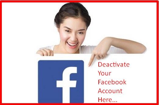 How Do I Deactivate Facebook Account Temporarily
